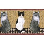 Cats B7103AFR Wallpaper Border