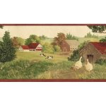 Country B7118AFR Wallpaper Border