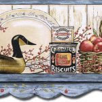 Kitchen Shelf Apples AFR7128 Wallpaper Border