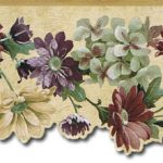 Flowers SA75751DC Wallpaper Border