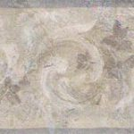 Sachet Scroll Silver Leaves SA75773 Wallpaper Border