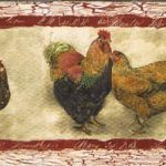 Hen Rooster SP76453N Wallpaper Border