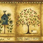 Americana Sweet Home NC76749 Wallpaper Border