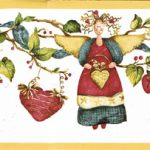 Christmas Angels NC76759 Wallpaper Border