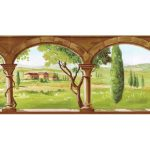 Country TK78261 Wallpaper Border