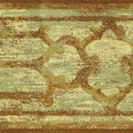 Architectural Brown FF8308B Wallpaper Border