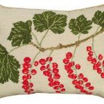 Red Currants Decorative Pillow