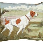 Pointer in the Field Decorative Pillow
