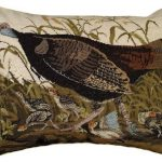 Wild Turkey Hen Decorative Pillow