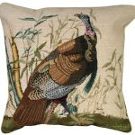 Wild Turkey Decorative Pillow