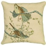 Song Sparrow Decorative Pillow