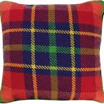 Van Campen – Red Plaid Decorative Pillow NCV-18