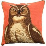 Great Horned Owl Decorative Pillow