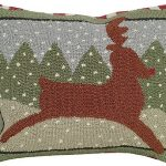 Reindeer Decorative Pillow NCU-503