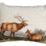 American Elk Decorative Pillow