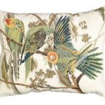 Carolina Parrot Decorative Pillow NCU-633