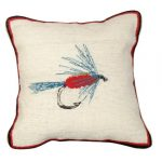 Wet Fly Decorative Pillow