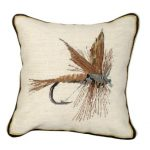 March Brown Decorative Pillow