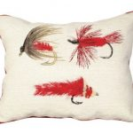 Triple Fly One Decorative Pillow