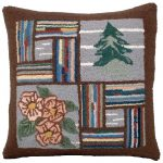 Booth Bay Tree Decorative Pillow