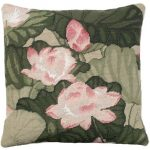 Lotus Decorative Pillow NCU-344A