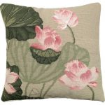 Lotus Decorative Pillow NCU-344B