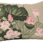 Lotus Decorative Pillow NCU-344C