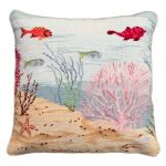 Coral Reef Right Decorative Pillow