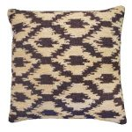 Ikat Onyx Decorative Pillow