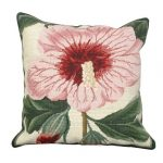 Syrian Hibiscus Decorative Pillow