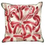 Guernsey Lily Decorative Pillow