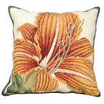 Day Lily Decorative Pillow