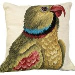 Parrot Looking Right Decorative Pillow