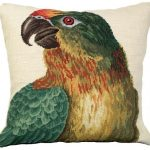 Parrot Looking Left Decorative Pillow