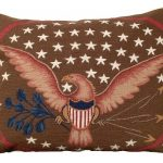 Eagle and Shield Decorative Pillow