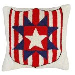 Star and Shield Decorative Pillow