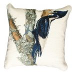 Ivory-Billed Woodpecker Decorative Pillow