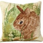 Thumper Rabbit Decorative Pillow