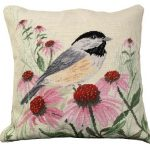 Chickadee Decorative Pillow