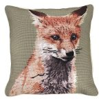 Sitting Fox Decorative Pillow