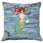 Mermaid 1 Decorative Pillow