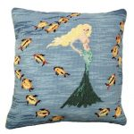 Mermaid 3 Decorative Pillow