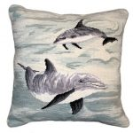 Dolphins Decorative Pillow