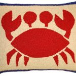 Crabby Decorative Pillow