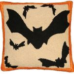 Bats Decorative Pillow