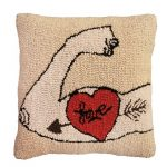 Tattoo Love Decorative Pillow