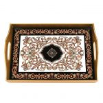 Empire Eglimose Reverse Hand Painted Glass Tray