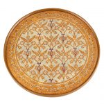 Antigua Sand Round Tray or Charger